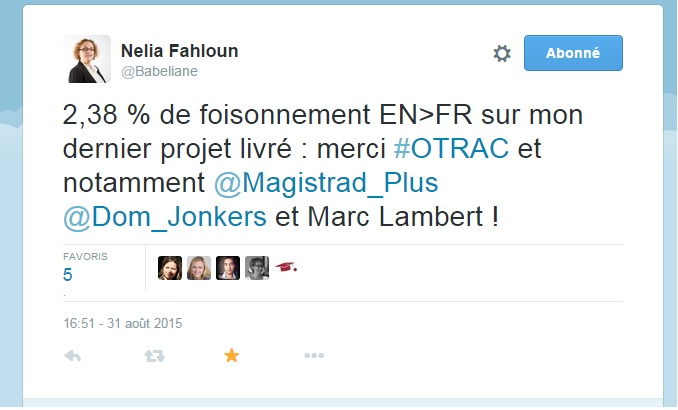 Des lendemains qui Chantillyent (#OTRAC) (5/6)